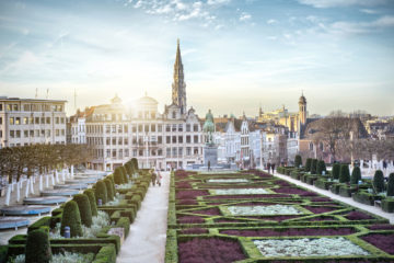 Mont des Arts in Brüssel